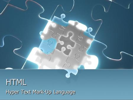 HTML Hyper Text Mark-Up Language. HTML Hyper Text Mark-Up Language Linguaggio di marcatura per ipertesti E un linguaggio di formattazione usato per descrivere.