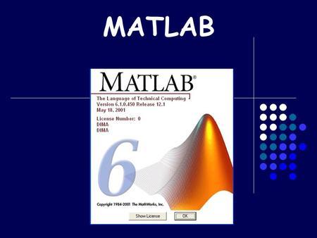 MATLAB. Scopo della lezione Programmare in Matlab Funzioni Cicli Operatori relazionali Esercizi vari.