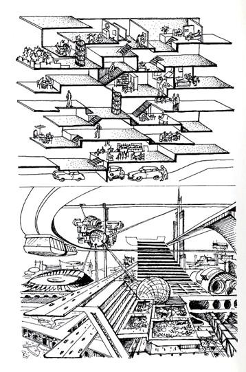 Il linguaggio moderno dell?Architettura - Reintegrazione edificio, città, territorio