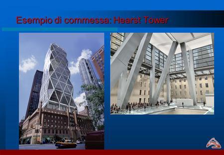 Esempio di commessa: Hearst Tower. Affiancamento allUfficio Commerciale -Il project managing deve intervenire fin dalle prime fasi della trattativa, per.